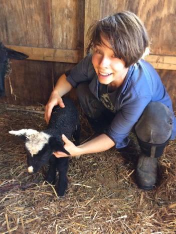 Baby lamb!